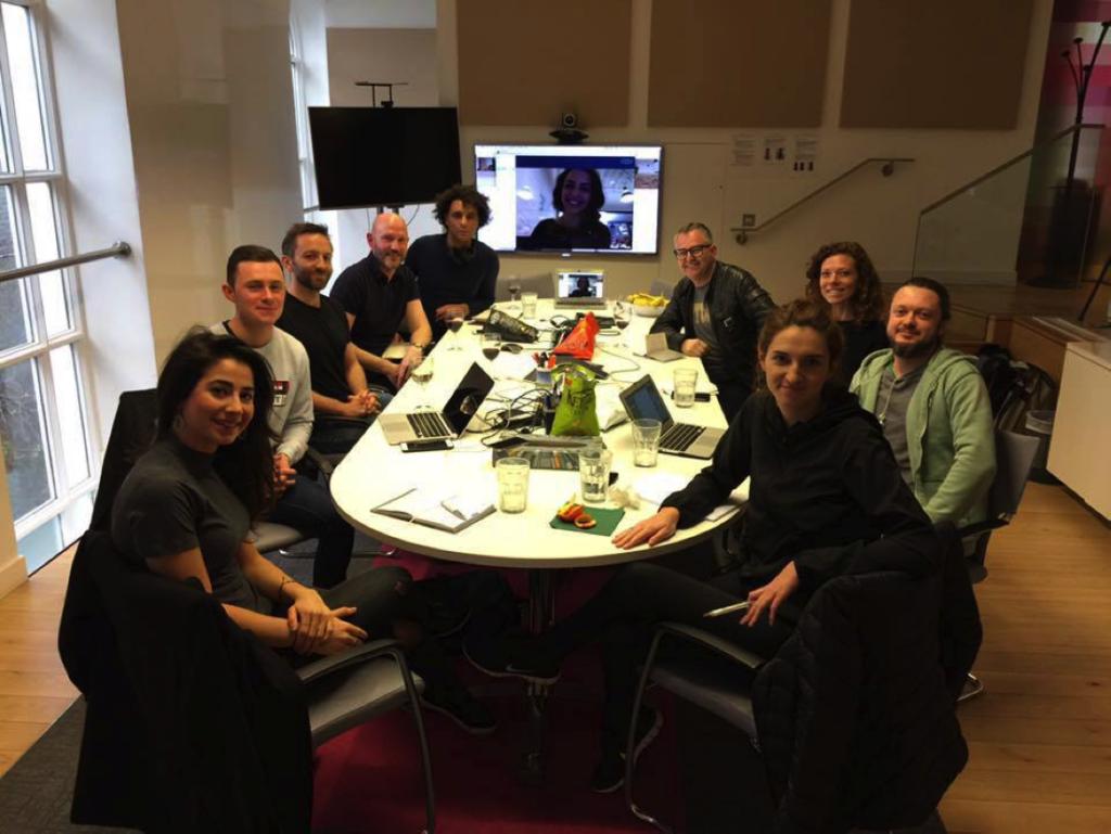 Techfugees Team Meeting