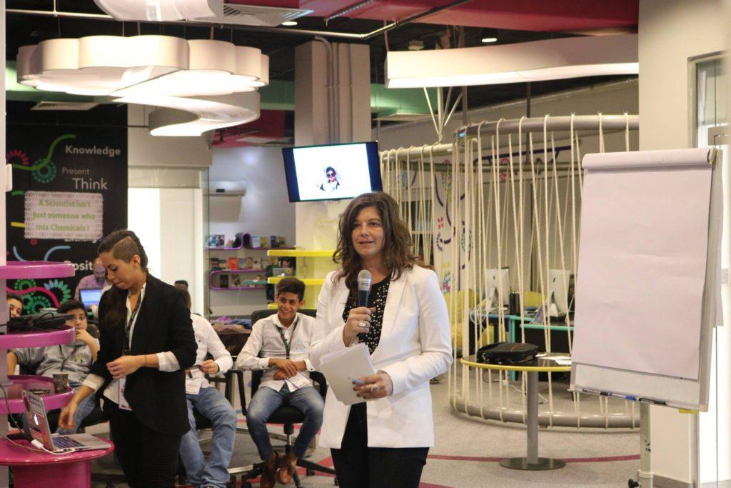 Eva Kaplan Techfugees Refugee Event