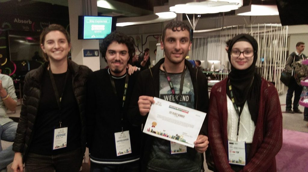 Techfugees Amman Hack Winners Profugees
