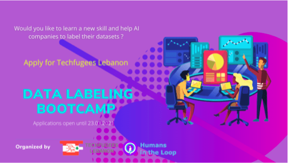 Data Labelling Bootcamp, March 2021 @TechfugeesLebanon
